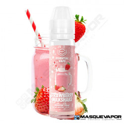 STRAWBERRY MILKSHAKE ESSENTIAL VAPE BOMBO 50ML TPD 0MG
