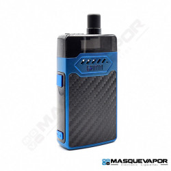 GRIMM KIT GRIMM GREEN OHM BOY HELL VAPE 30W BLUE CARBON FIBER