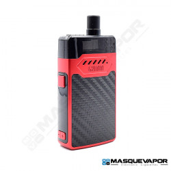 GRIMM KIT GRIMM GREEN OHM BOY HELL VAPE 30W RED CARBON FIBER