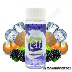 HONEYDEW BLACKCURRANT ICE YETI ELIQUIDS TPD 100ML 0MG