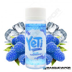 BLUE RASPBERRY ICE YETI ELIQUIDS TPD 100ML 0MG