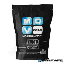MQV KILL BILL SINGLE COIL 0,28OHM FULL NI80 CHARROCOILS