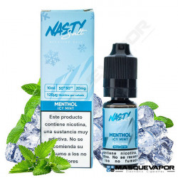 MENTHOL ICY MINT NIC SALT NASTY JUICE TPD 10ML 20MG