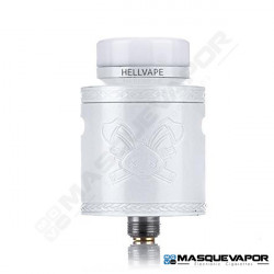 DEAD RABBIT V2 RDA 24MM HELLVAPE PEARL WHITE