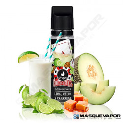 BATIDO DE LIMA MELON CARAMELO POKER FRUITS DROPS ELIQUIDS 50ML 0MG