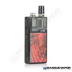 LOST VAPE ORION Q PRO POD BLACK RED STABWOOD