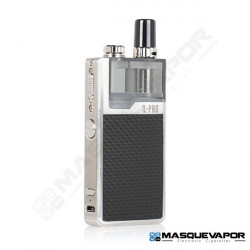 LOST VAPE ORION Q PRO POD SILVER BLACK WEAVE