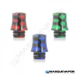 DRIP TIP 510 EPOXY SNAKE CONIQUE PATTERN
