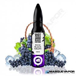 RICH BLACK GRAPE BLACK EDITION RIOT SQUAD 50ML 0MG