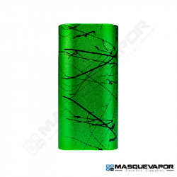 SAGA BOX MECH MOD BY VAPERZ CLOUD GREEN SPLASH