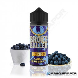 BANGING BLUEBERRY BROKE BALLER 80ML 0MG