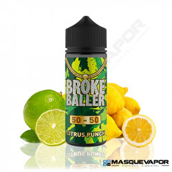 CITRUS PUNCH BROKE BALLER 80ML 0MG