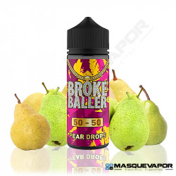 PEAR DROPS BROKE BALLER 80ML 0MG