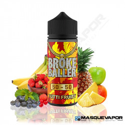 TUTTI FRUITY BROKE BALLER 80ML 0MG