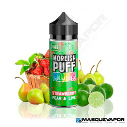 STRAWBERRY PEAR AND LIME MOREISH PUFF TPD 100ML 0MG