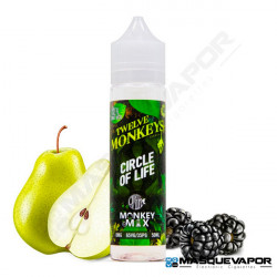 CIRCLE OF LIFE TWELVE MONKEYS TPD 50ML 0MG