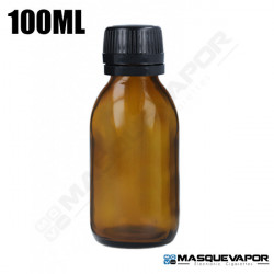 100ML GLASS AMBER BOTTLE