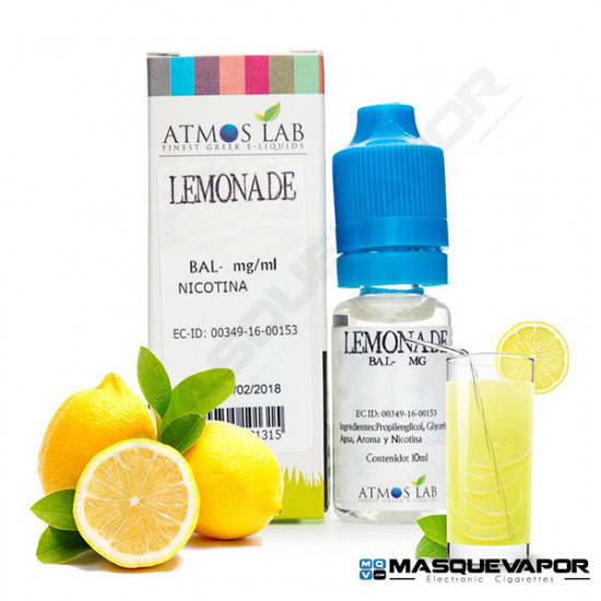 LEMONADE ATMOS LAB TPD 10ML 6MG