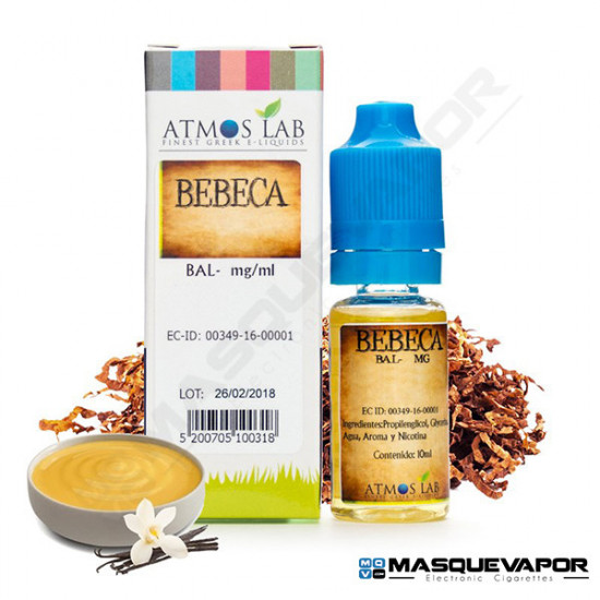 BEBECA ATMOS LAB TPD 10ML 18MG