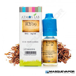 RY69 ATMOS LAB TPD 10ML 0MG