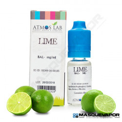 LIME ATMOS LAB TPD 10ML 6MG