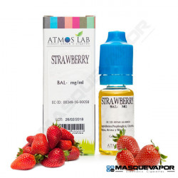 STRAWBERRY ATMOS LAB TPD 10ML 0MG