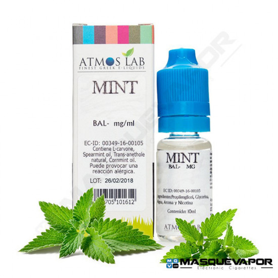 MINT ATMOS LAB TPD 10ML 0MG