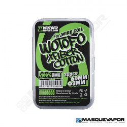 COTTON XFIBER 3MM 30PCS BY WOTOFO