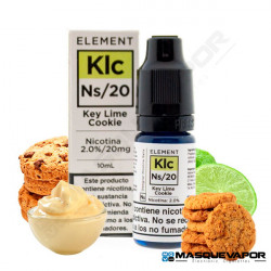 KEY LIME COOKIE ELEMENT NIC SALTS 10ML 20MG