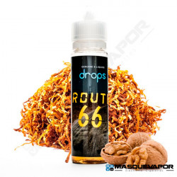 ROUTE 66 DROPS ELIQUIDS TPD 50ML 0MG