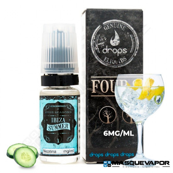 IBIZA SUMMER DROPS ELIQUIDS 10ML 6MG