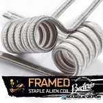 FRAMED STAPLE ALIEN 0,11OHM FULL NI80 BACTERIO COILS