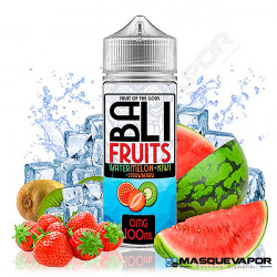 ICE WATERMELON KIWI STRAWBERRY BALI FRUITS KINGS CREST TPD 100ML 0MG