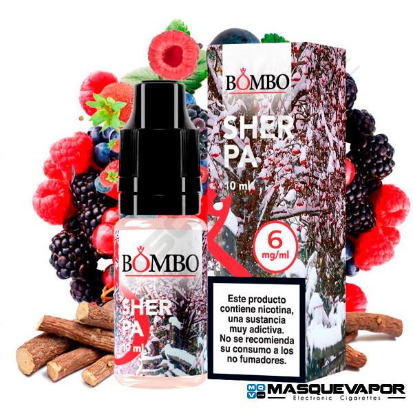 SHERPA - BOMBO ELIQUIDS 10ML 6MG