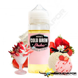 STRAWBERRY AND CREAM NITRO'S COLD BREW TPD 100ML 0MG