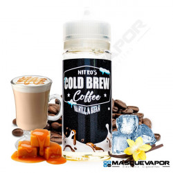 VANILLA BEAN NITRO'S COLD BREW TPD 100ML 0MG