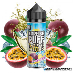 PASSION FRUIT CIDER ON ICE MOREISH TPD 100ML 0MG