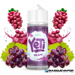 GRAPE ICE YETI ELIQUIDS TPD 100ML 0MG