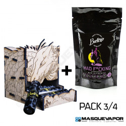 PACK 3/4 MAD F*CKING 0,13OHM DRAGONBATT BACTERIO COILS