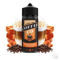 SALTED CARAMEL CAPPUCCINO COFFEE CO 100ML