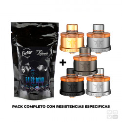 PACK REQUIEM RDA + RAISE DEAD TOGETHER COILS