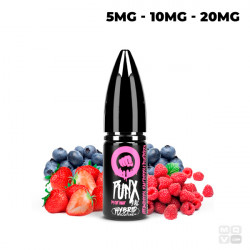 STRAWBERRY RASPBERRY & BLUEBERRY NIC SALT PUNX RIOT SQUAD