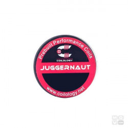 PERFORMANCE COIL JUGGERNAUT Ni80 2-26/1*.4/2-36 PACK 10 COILS COILOLOGY