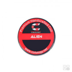 ALIEN SS316L 3-26/36 0.07OHM PACK 2 COILS COILOLOGY