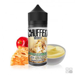 APPLE CRUMBLE AND CUSTARD CHUFFED ELIQUIDS 100ML