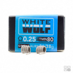 WHITE WOLF 0,25OHM THE FORGE BY CHARROCOILS