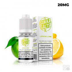 LEMON LIME SUKKA SALTS 10ML