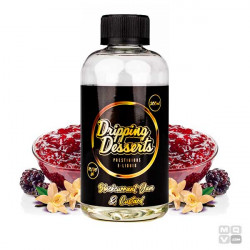 BLACKCURRANT JAM BY DRIPPING DESSERTS 200ML