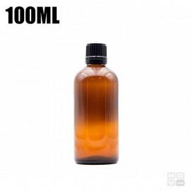100ML GLASS AMBER BOTTLE SLIM