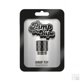 DRIP TIP 810 / 510 HONEYCOMB SS PIMP MY VAPE